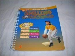 9780736720786: ZB Spelling Connections Grade 4 (Teacher Edition)