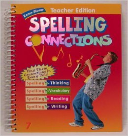 9780736720816: Zaner-Bloser Spelling Connections, Teacher's Edition