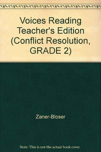 9780736734073: Voices Reading Teacher's Edition (Conflict Resolution, GRADE 2)