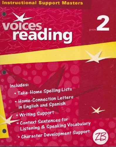 9780736734141: Instructional Support Masters VOICES READING (GRADE 2)