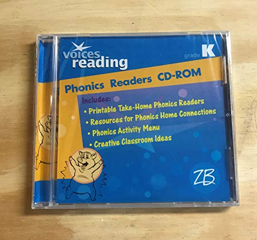 9780736734974: Voices Reading, Grade K: Phonics Readers CD-ROM