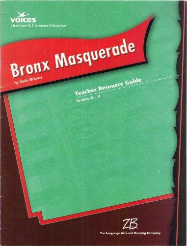 9780736743341: Bronx Masquerade by Nikki Grimes - Teacher's Resource Guide; Grades 6-8