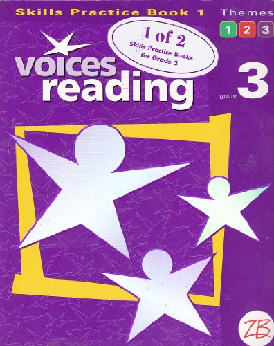 9780736748193: Voices Reading, Grade 3: Skills Practice Book, Book 1