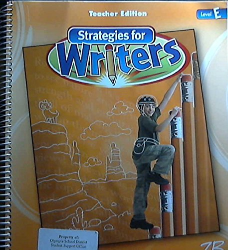 9780736751162: Strategies for Writers (Level E)