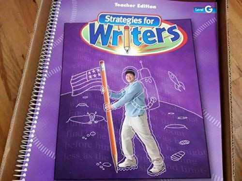 9780736751186: Strategies for Writers Level G (Level G)
