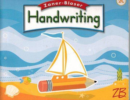 9780736751452: Zaner Bloser Handwriting: Grade 2, Cursive