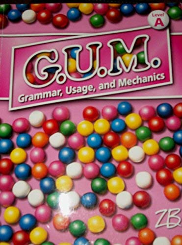 9780736757379: GUM Grammar, Usage and Mechanics