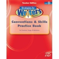 9780736760966: Strategies for Writers Teachers Edition (Convention & Skills Practice Book, Level D)