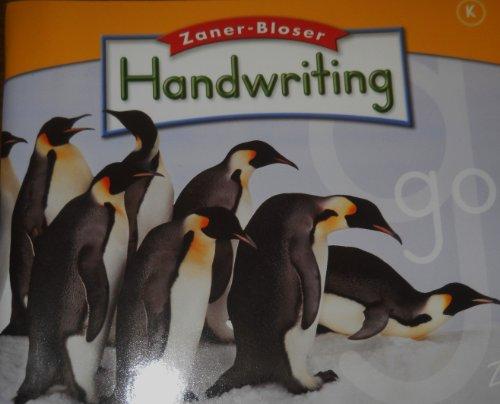 9780736768351: Handwriting Level K