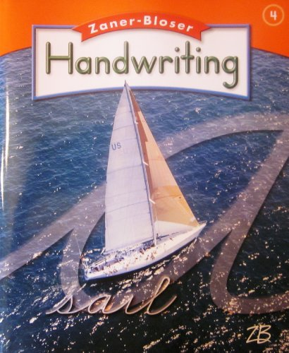 9780736768405: ZANER-BLOSER HANDWRITING; GRADE 4