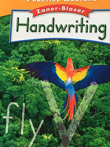 9780736769464: Practice Master for HANDWRITING by Zaner-Bloser