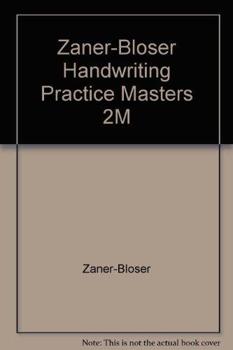 Zaner-Bloser Handwriting Practice Masters 2M