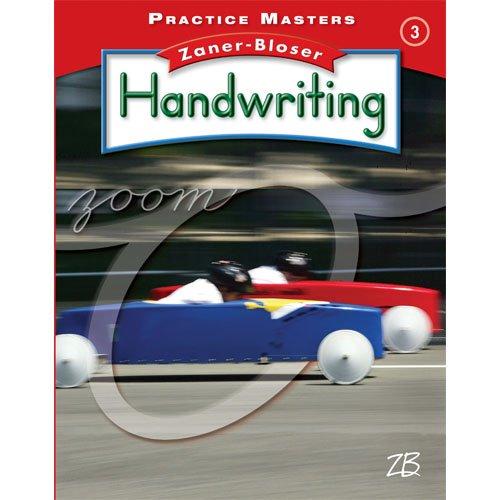 9780736769495: Practice Masters, Grade 3 (Zaner-Bloser Handwriting)