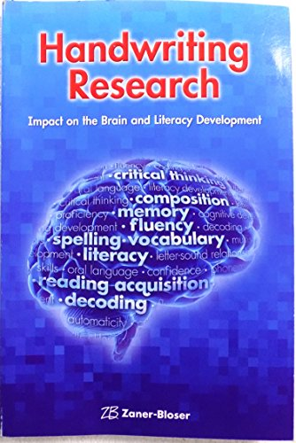 9780736772440: Handwriting Research: A Guide to Curriculum Planning