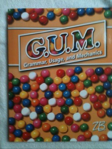 9780736792769: G. U. M., Grammar, Usage, and Mechanics
