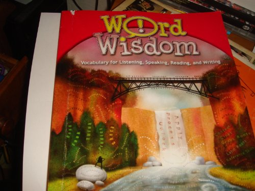 9780736794657: Word Wisdom; Vocabulary for Listening, Speaking, Reading and Writing