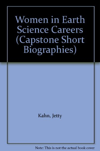9780736800129: Women in Earth Science Careers (Capstone Short Biographies)