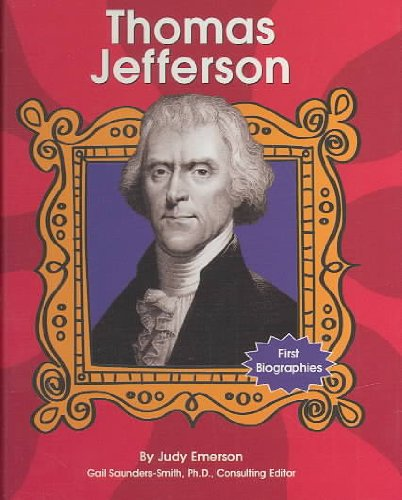 9780736820882: Thomas Jefferson (First Biographies - Presidents and Leaders)