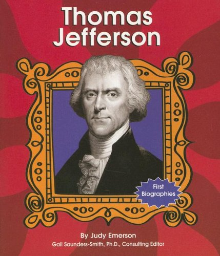 9780736833851: Thomas Jefferson (First Biographies - Presidents and Leaders)