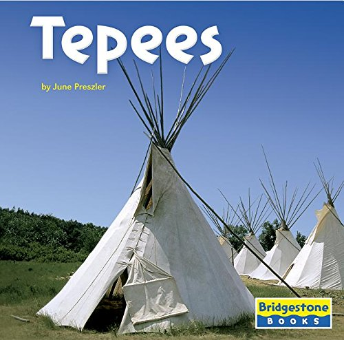 9780736837279: Tepees (Native American Life)