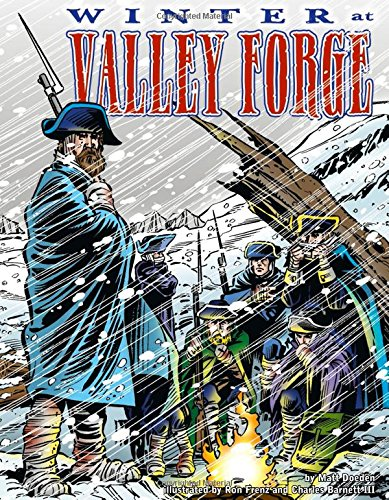 9780736862127: Winter at Valley Forge (Graphic History)