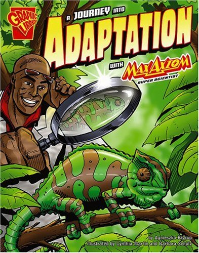9780736868402: A Journey into Adaptation with Max Axiom, Super Scientist (Graphic Science)
