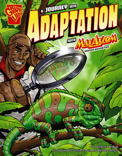 9780736878920: A Journey into Adaptation with Max Axiom, Super Scientist (Graphic Science)