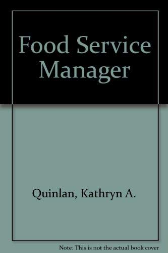 9780736885447: Food Service Manager (Careers Without College)