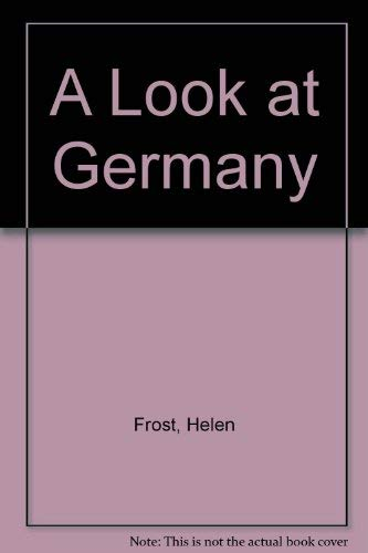 9780736893923: A Look at Germany (Our World)