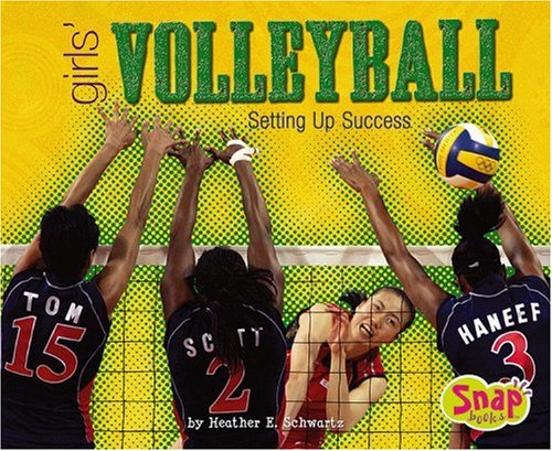 9780736899314: Girls' Volleyball: Setting Up Success (Girls Got Game series)