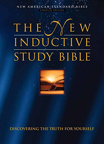 9780736900171: The New Inductive Study Bible: Nas : Burgundy Bonded Leather