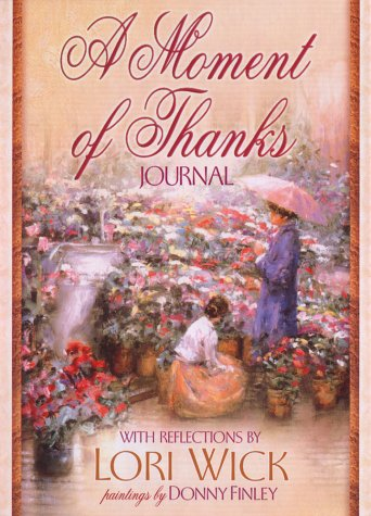 9780736901079: A Moment of Thanks Journal