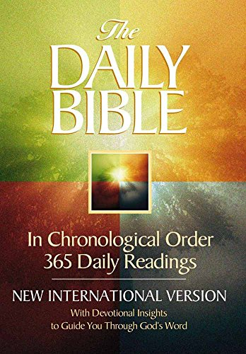 9780736901246: The Daily Bible: With Devotional Insights to Guide You Through God's Word : New International Version