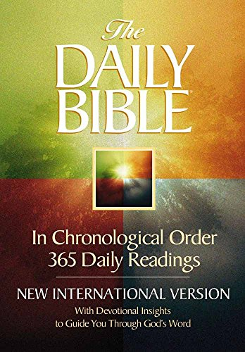 9780736901987: The Daily Bible: New International Version: With Devotional Insights to Guide You Through God's Word