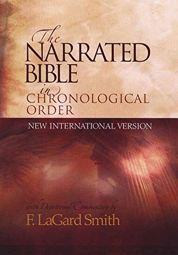 9780736902397: The Narrated Bible in Chronological Order (NIV)