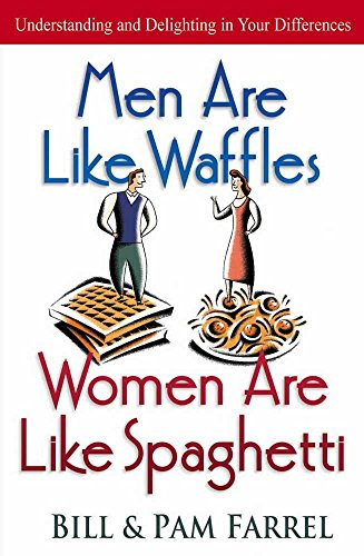9780736904865: Men Are Like Waffles--Women Are Like Spaghetti