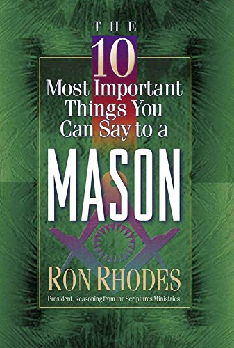 9780736905367: The 10 Most Important Things You Can Say to a Mason