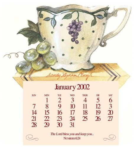 Gloria Calendar 2002 (Sandy's Tea Society Teacup) (9780736906746) by Sandy Lynam Clough
