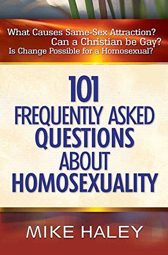 9780736914703: 101 Frequently Asked Questions About Homosexuality