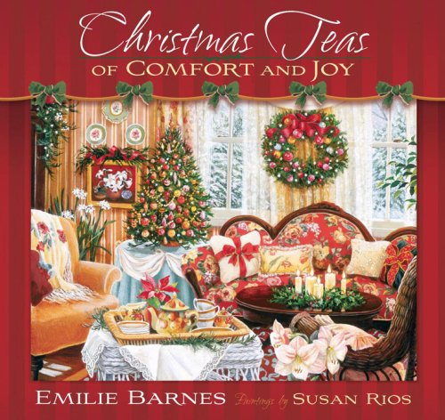 9780736922296: Christmas Teas of Comfort and Joy