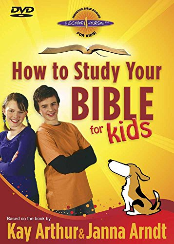 9780736926119: HOW TO STUDY YOUR BIBLE FOR KIDS [DVD]