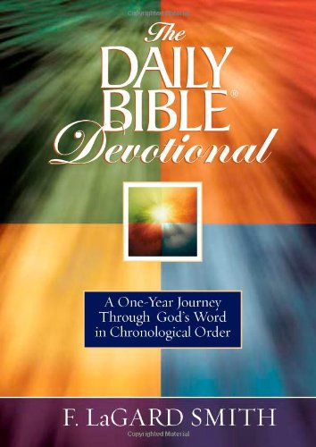 9780736927918: The Daily Bible® Devotional: A One-Year Journey Through God's Word in Chronological Order