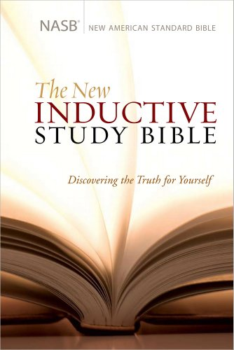 9780736928014: The New Inductive Study Bible (NASB)