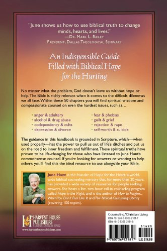 9780736928182: Counseling Through Your Bible Handbook: Providing Biblical Hope and Practical Help for 50 Everyday Problems