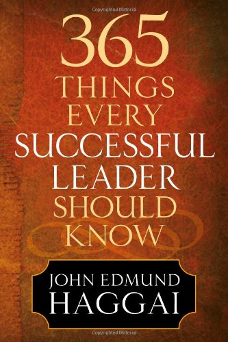 9780736929400: 365 Things Every Successful Leader Should Know