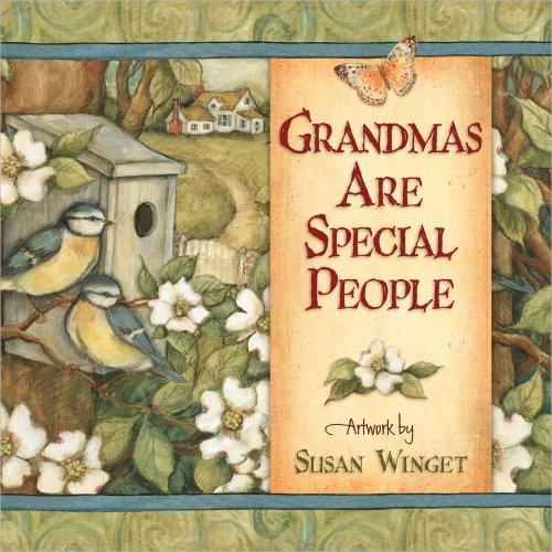 Grandmas Are Special People: Winget Susan