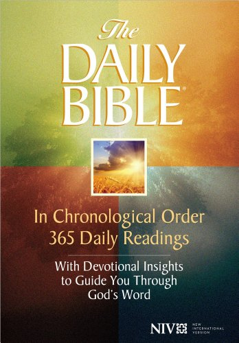 9780736944281: Daily Bible-NIV: In Chronological Order 365 Daily Readings with Devotional Insights to Guide You Through God's Word