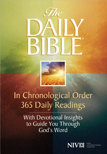 9780736944311: Daily Bible-NIV: In Chronological Order 365 Daily Readings with Devotional Insights to Guide You Through God's Word