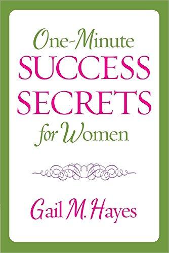 9780736949385: One-Minute Success Secrets for Women