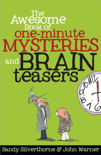 9780736949736: The Awesome Book of One-Minute Mysteries and Brain Teasers